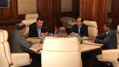 اجتماع فائز السراج وأحمد معيتيق وعبدالسلام كجمان ومحمد العماري زايد وأحمد حمزة.