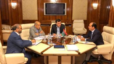 اجتماع فائز السراج وخالد المشري والصديق الكبير والسيد أحمد معيتيق حول برنامج الإصلاح الاقتصادي - طرابلس