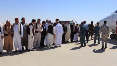ملتقى القبائل الليبية - لحظات الوصول