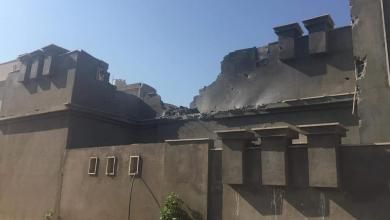 حادثة سقوط القذائف على منزل بطريق المطار في طرابلس