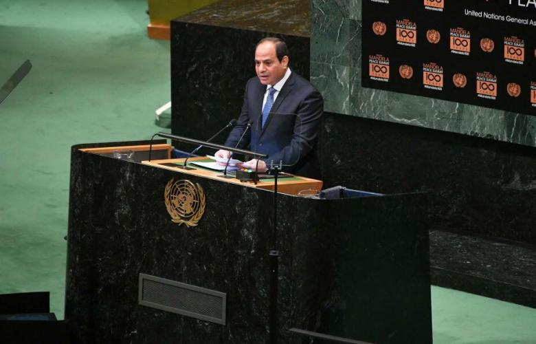 السيسي: ندعم بناء الدولة في ليبيا وتوحيد الجيش