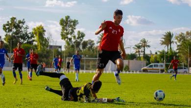 اللاعب الليبي محمد زعبية