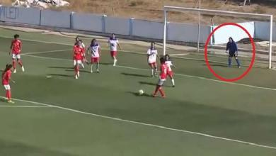شاهد.. حارسة مرمى تتسبب في خسارة فريقها بـ28 هدفا دون رد