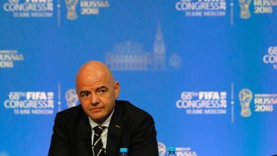 جياني إنفانتينو رئيس الاتحاد الدولي لكرة القدم