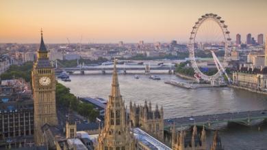 العاصمة البريطانية لندن