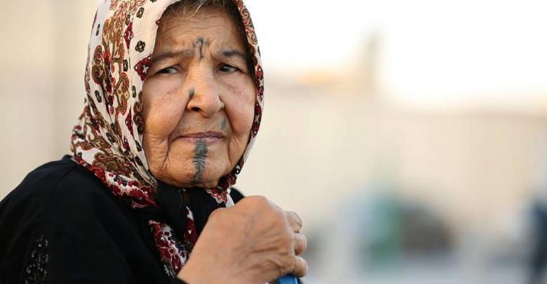 عجوز ليبية