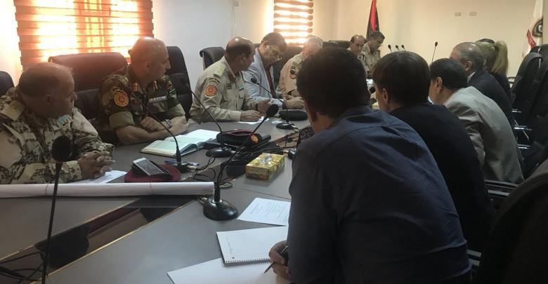 الاجتماع الفني العسكري بحضور الأمم المتحدة والقادة العسكريين