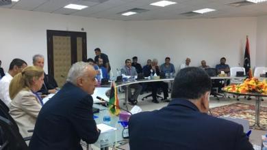 المبعوث الأممي غسان سلامة في اجتماع لمناقشة الوضع الأمني في طرابلس بحضور الأمم المتحدة وممثلين عن المجلس الرئاسي وقادة المجموعات المسلحة في طرابلس
