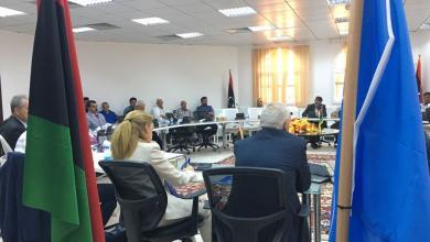 غسان سلامة متحدثاً في اجتماع اليوم لمناقشة الأوضاع الأمنية في طرابلس