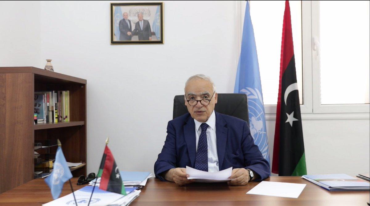 الممثل الخاص للأمين العام للأمم المتحدة غسان سلامة
