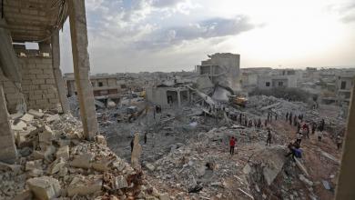 Photo of 42 قتيلا في قصف لآخر جيوب داعش شرق سوريا