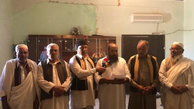 صورة ممثلون عن أكثر من 30 مدينة يعلنون تأييدهم لحفتر