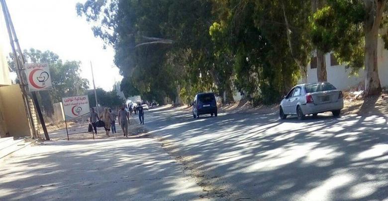 فرار السجناء من سجن الرويمي في طرابلس
