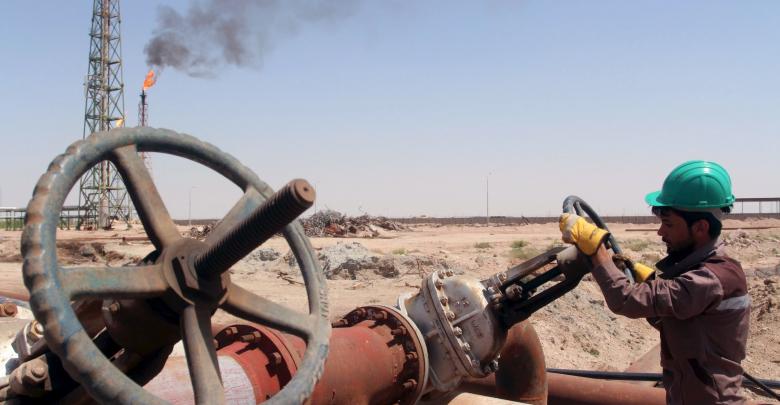 حقل نفط عراقي