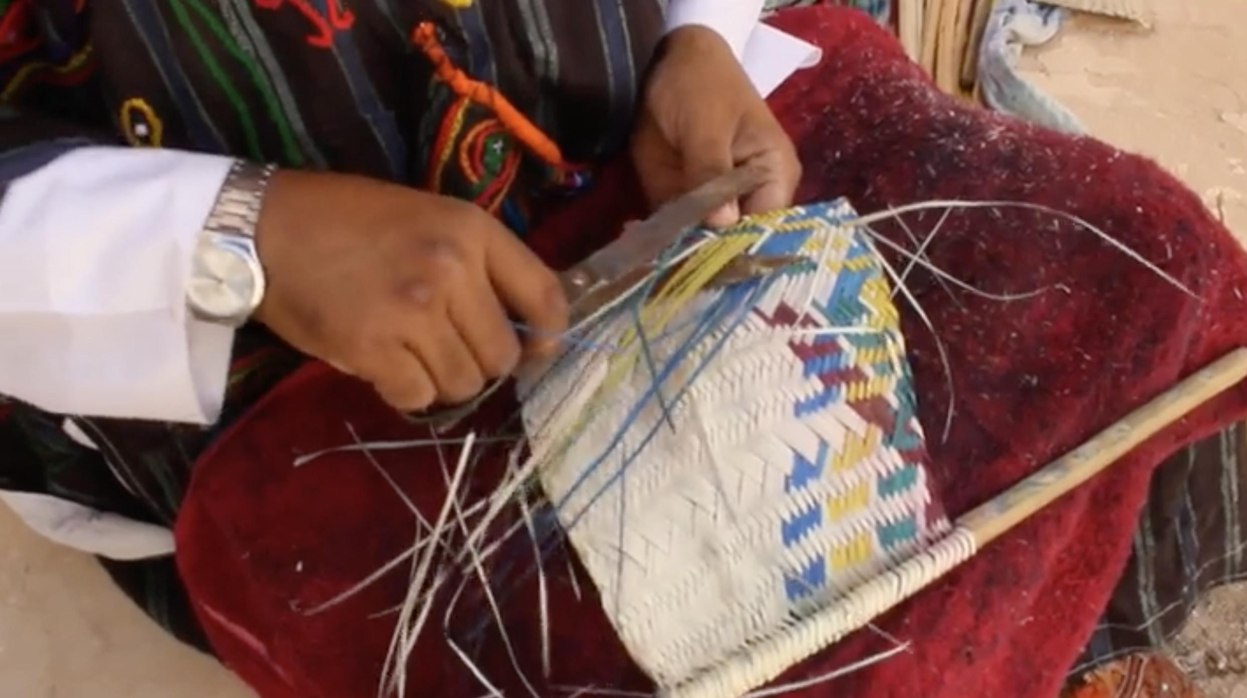 حرفة صناعة مشتقات النخيل في مدينة غدامس