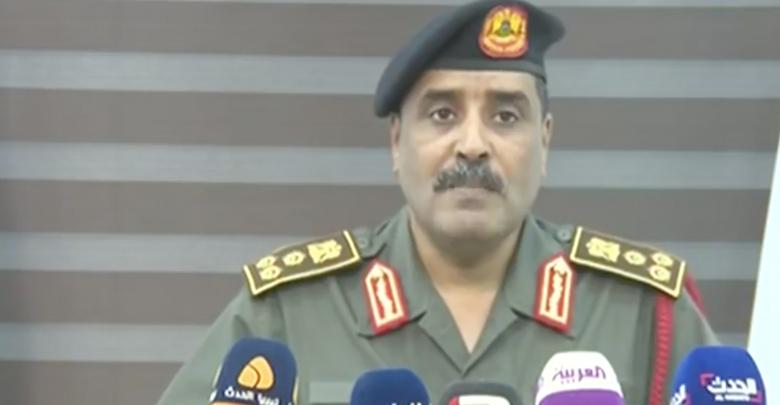 المتحدث باسم الجيش الوطني أحمد المسماري