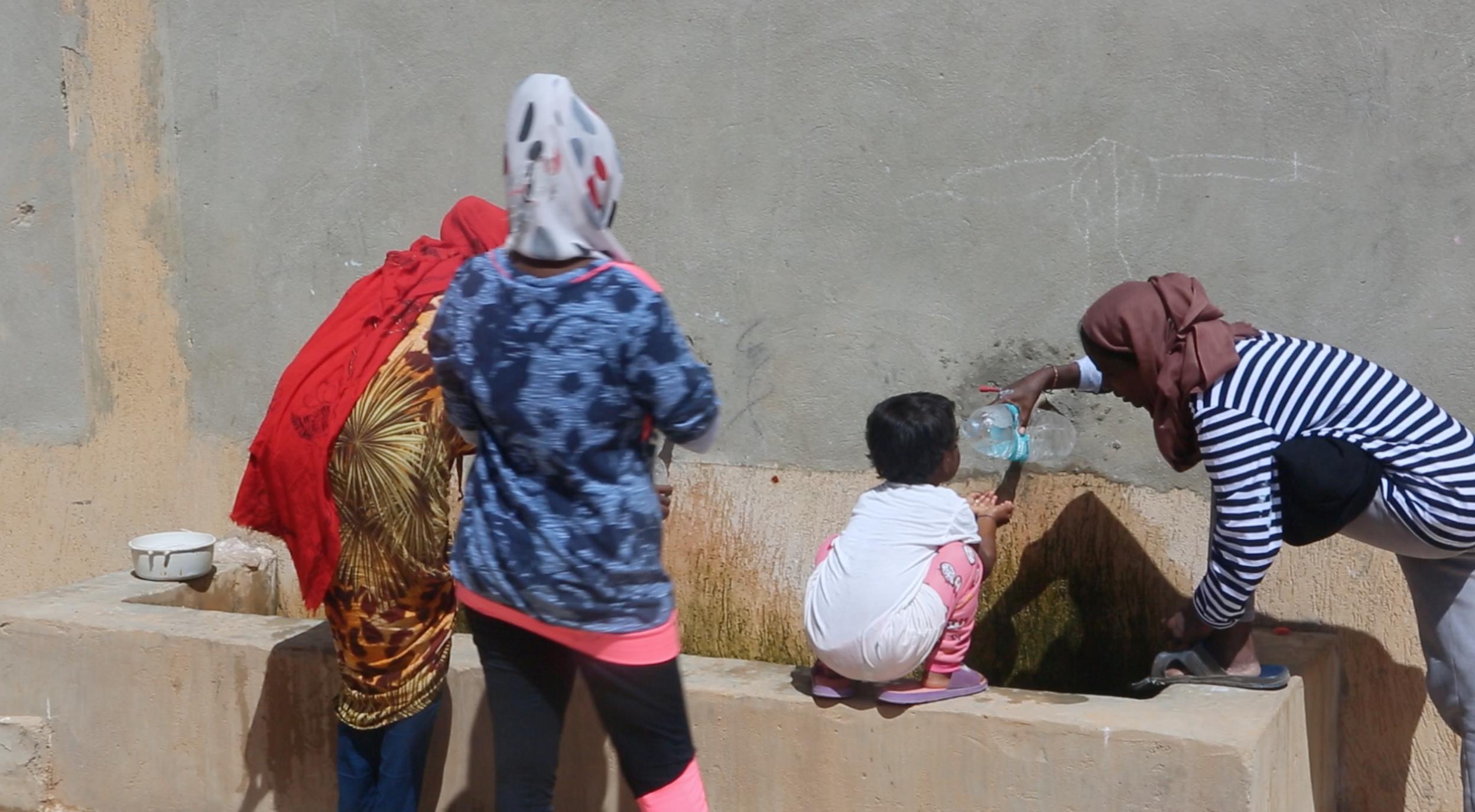 """زيارة وفد من منظمة الأمم المتحدة للطفولة """"يونيسف"""" للمركز إيواء ظاهر الجبل"""
