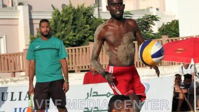 صورة اختتام بطولة ليبيا لكرة الطائرة الشاطئية في بنغازي