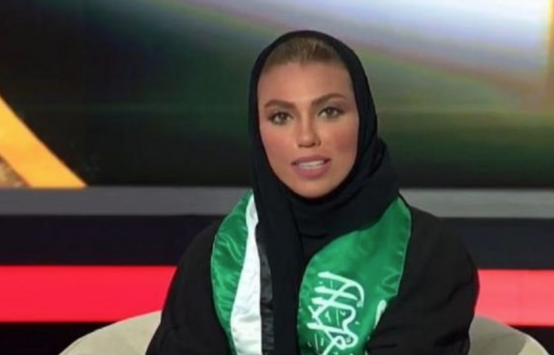 الصحافية السعودية الشابة وئام الدخيل