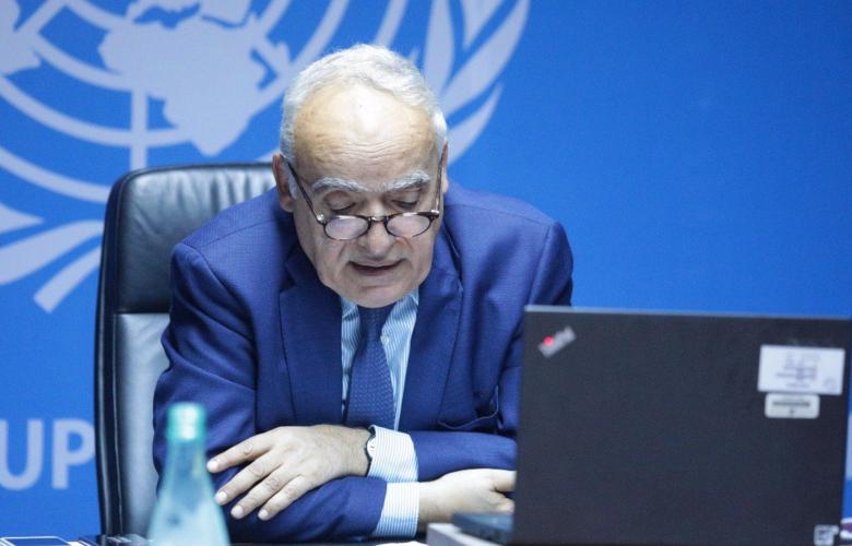 رئيس بعثة الأمم المتحدة للدعم في ليبيا غسان سلامة