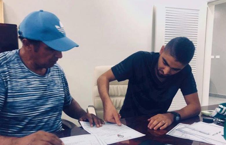 لاعب الاتحاد السابق عبد المعين خماج يتعاقد رسميا مع الأهلي طرابلس