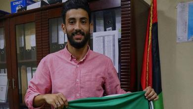 اللاعب الليبي إدريس الضراط