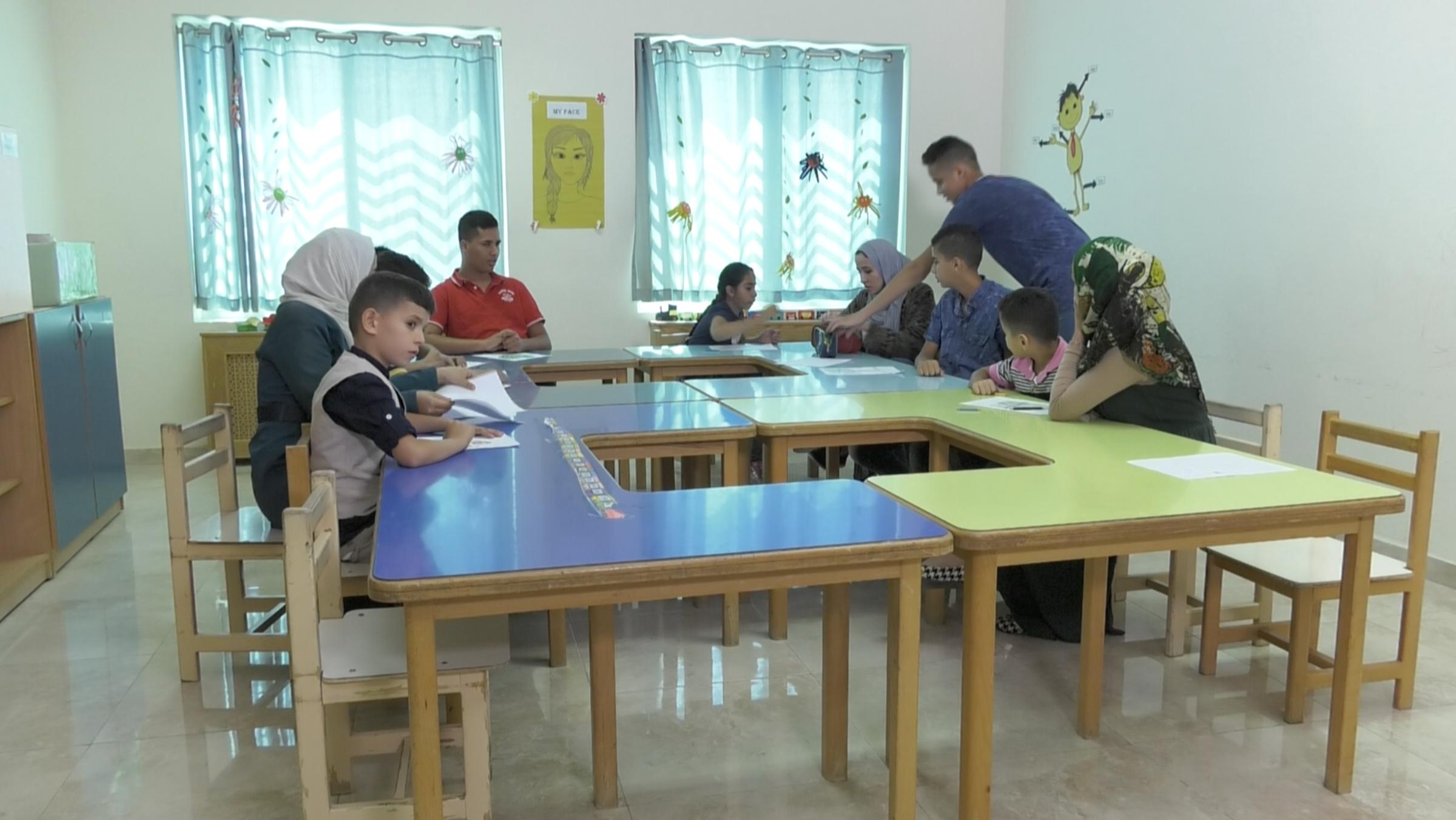 أطفال التوحد الأكاديمية الأردنية للتوحد