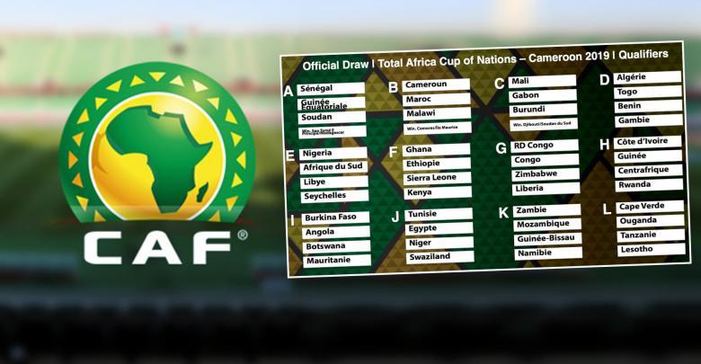 التصفيات الأفريقية المؤهلة لكأس أمم أفريقيا 2019