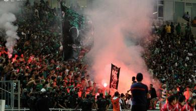 صورة الجماهير الليبية دائما على العهد