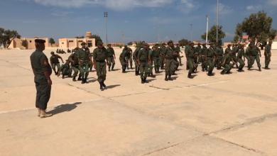 مدير إدارة التدريب بالقيادة العامة للقوات المسلحة اللواء رمضان بوعيشة - مركز تدريب طبرق