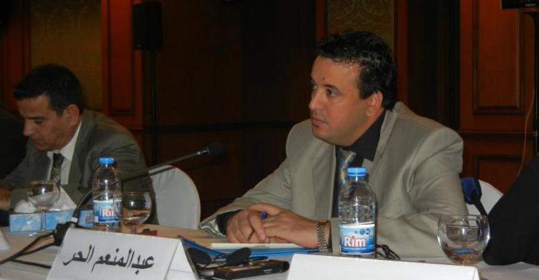 ممثل ليبيا في المنظمة العربية لحقوق الإنسان عبد المنعم الحر - ارشيفية