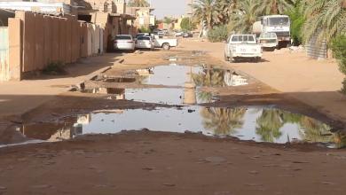 مدينة القطرون ومعاناة الصرف الصحي