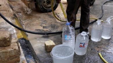 صورة طرابلس بلا مياه.. والمسلحون يريدون الضي