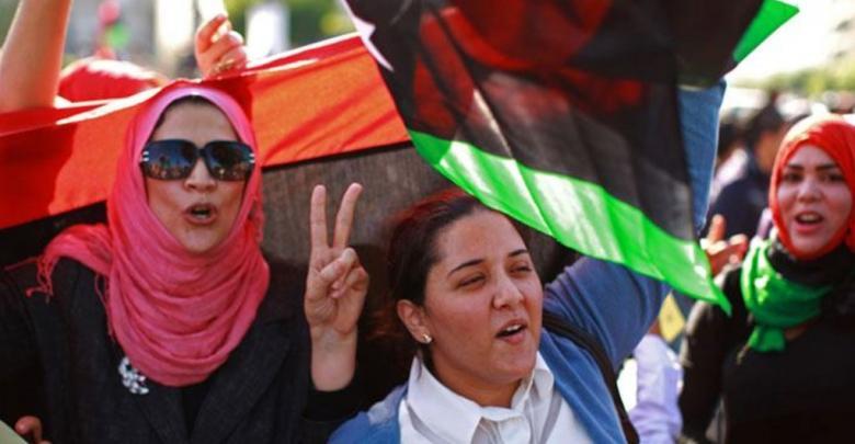 الليبيات - صورة تعبيرية