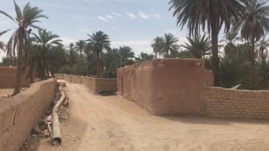 صورة المُحيط الأخطر لمدينة القديمة في غدامس مُهدد بالزوال