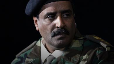 الناطق باسم القائد العام للجيش الوطني، العميد أحمد المسماري