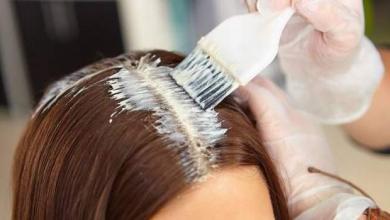 أضرار صبغ الشعر - تعبيرية