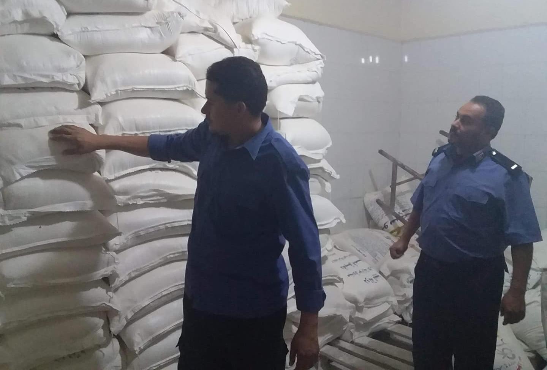 الحرس البلدي يكشف تجاوزات مخبز باجدابيا