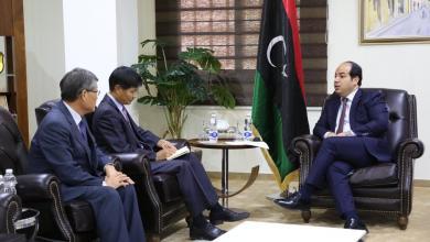 النائب أحمد معيتيق يلتقي سفير كوريا لدى ليبيا