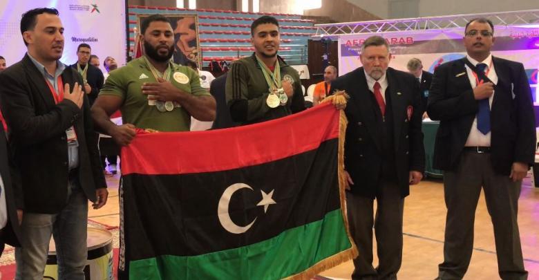 المنتخب الوطني في البطولة الأفروعربية - المغرب