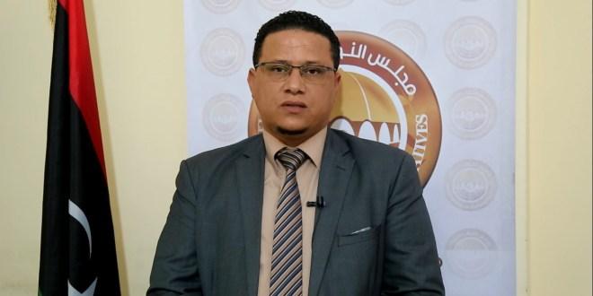 المتحدث الرسمي باسم مجلس النواب عبدالله بليحق