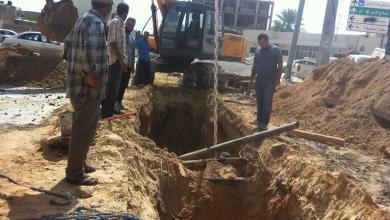 Photo of بلدية بوسليم تعالج مياه صرف باب بن غشير