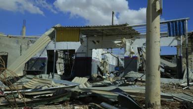 بلدي تاجوراء يتفقد مناطق متضررة في وادي الربيع