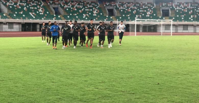 تدريبات المنتخب الوطني في نيجيريا