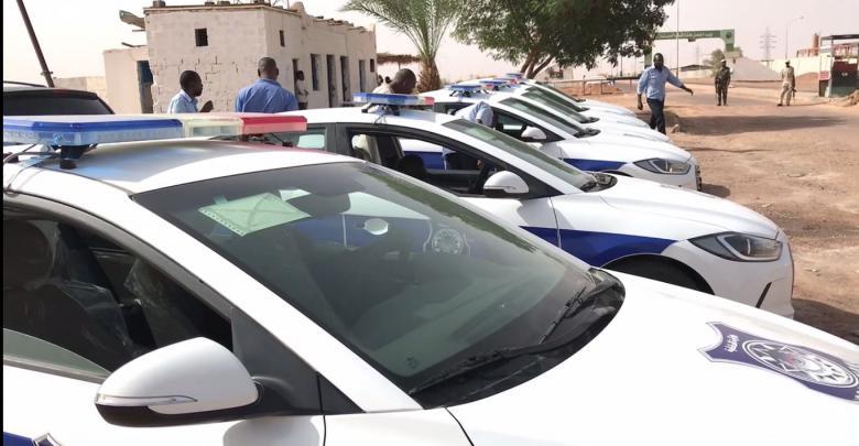سيارات مجهزة لمديرية أمن تراغن