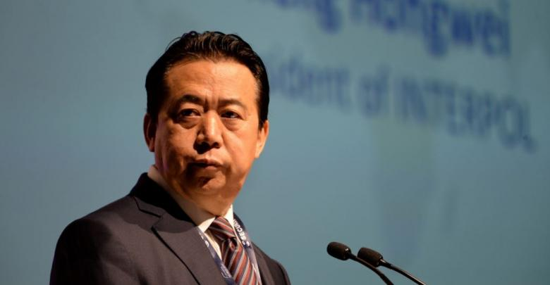 رئيس منظمة الإنتربول مينغ هونغوي