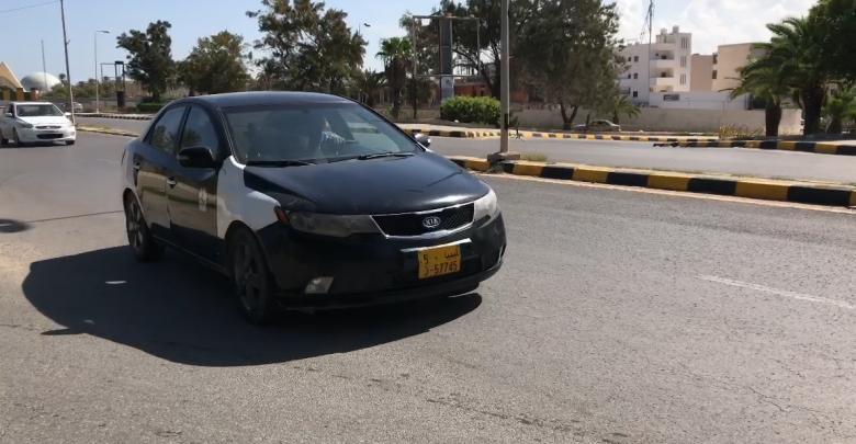 سائق تكسي في طرابلس