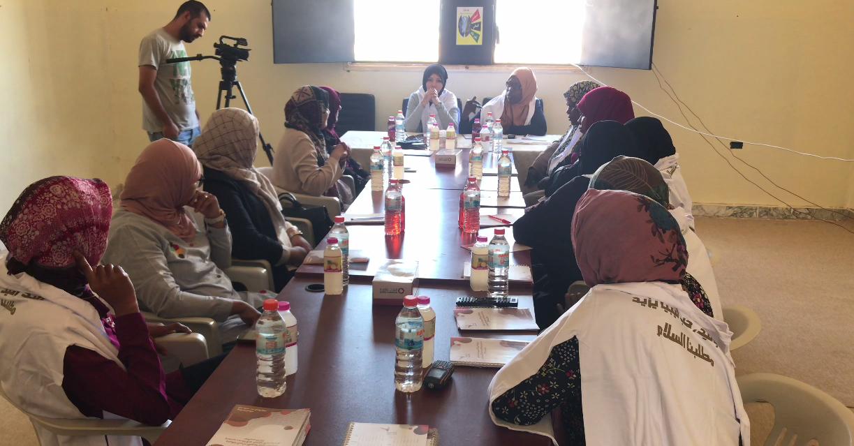 نساء مصراتة وتاورغاء: يجمعنا السلام وحب ليبيا