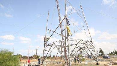 صيانة شبكة كهرباء طرابلس