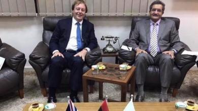 صورة السفير البريطاني في بنغازي